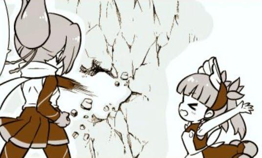 【ケムリクサ漫画】りなことりんの会話