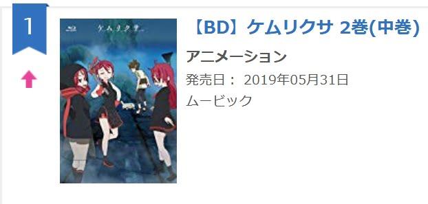 『ケムリクサ』BD2巻、発売日から1日おいて再びオリコン1位を獲得