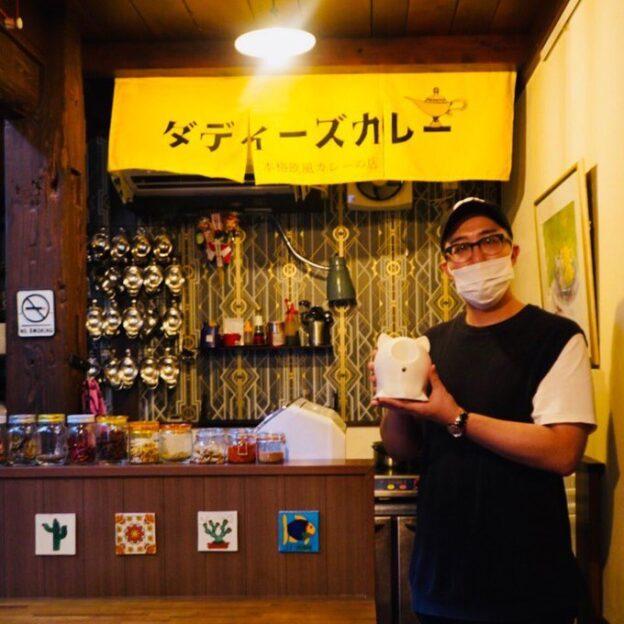 「もるにあ」に応募した熊本のダディーズスタジオのダディーズカレーがKABくまパワ!「2020年けんさむオブザイヤー」のカレー部門を受賞